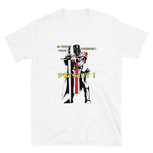 T-shirt Tshirt TEMPLIER CROISADE PRESENT !