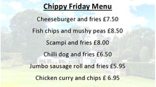 Chippy Friday Menu