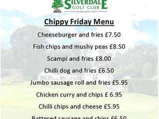 Chippy Friday Menu