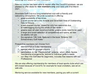 Why you should join Silverdale Golf Club