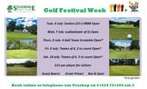 Golf Festival Week 6-10 July