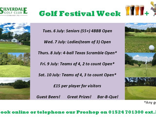 Golf Festival Week July 6-10