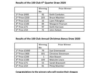 100 Club Draws