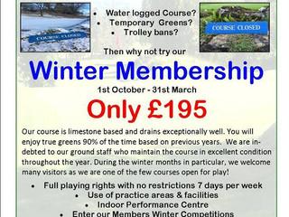 Winter Membership Offer