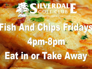Fish and Chip Fridays are back!