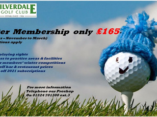 5-month Winter Memberships now available