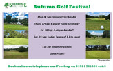 Autumn Golf Festival Ladies Open Result Sat. 19 September