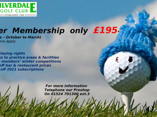 Winter Memberships Available