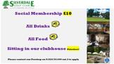 Social Membership for only £10