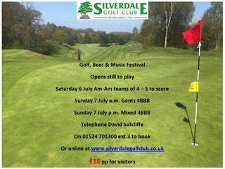 Golf, Beer & Music Festival - 3 Opens left to play