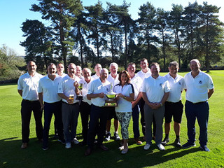 Lunesdale League Trophy Presented
