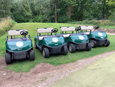 Buggy Hire at Silverdale Golf Club