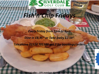 Fish'n'Chip Fridays are back!