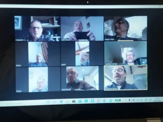 Our Seniors are having Virtual Coffee Mornings!