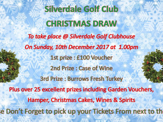 Please collect your raffle tickets envelopes from the clubhouse