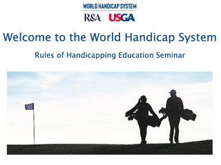 World Handicap System Seminar