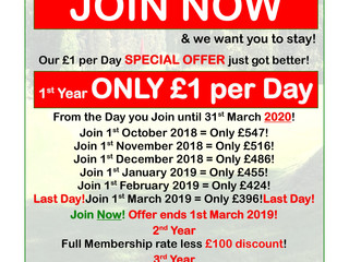 Our £1 per day offer is back!