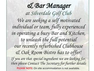 Silverdale Golf Club are recruiting