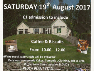 Please support our coffee morning
