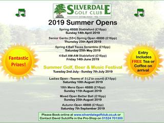 Summer Opens