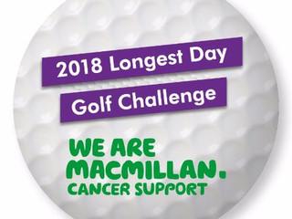 Macmillan Longest Day (72 Hole) Challenge