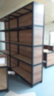 H98146 黑砂紋角鋼+瓷烤浮雕面 工作桌 內封板外封板_191002_000