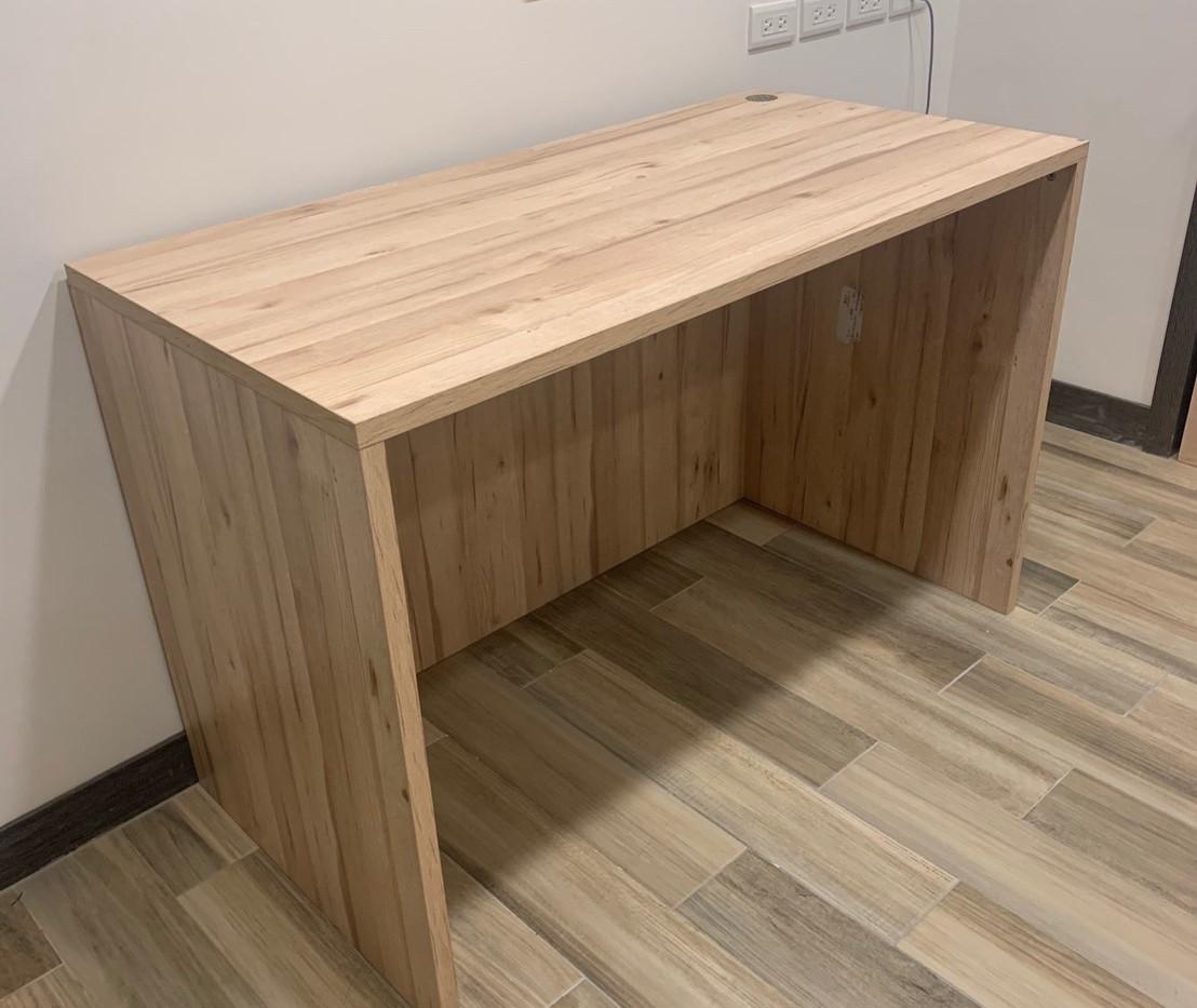 「木桌」120寬60深75高一層加下ㄇ(無抽屜)里斯本橡木_191116_001