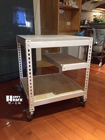 白色角鋼,角鋼,免螺絲角鋼,書桌,小桌子,小輪車,超方便收納,收納架,置物架,床邊櫃,電視櫃,貨架