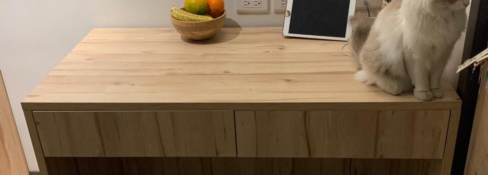 耶~抽屜抽屜抽屜「120寬60深78高」木桌(抽屜使用高度8公分ㄎㄎ_19111