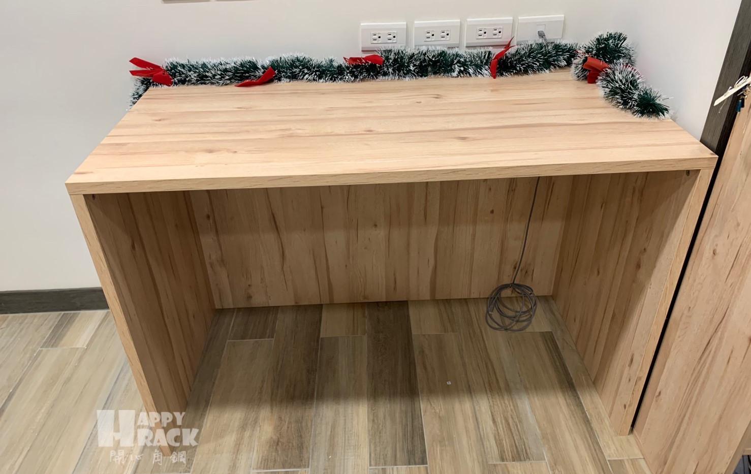 「木桌」120寬60深75高一層加下ㄇ(無抽屜)里斯本橡木_191116_000