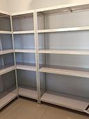 H2001111 黑砂紋+黑色木紋書櫃 衣櫃 白色角鋼+白色貼皮 衣櫃 儲物架