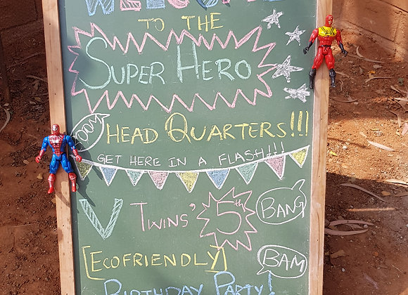 Super Hero figurines