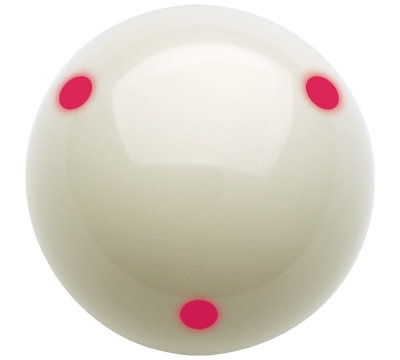Aramith Pro Cup 6 Red Dot Cue Ball