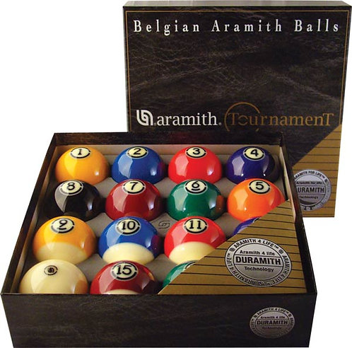 Aramith Tournament Belgian Billiard Ball Set