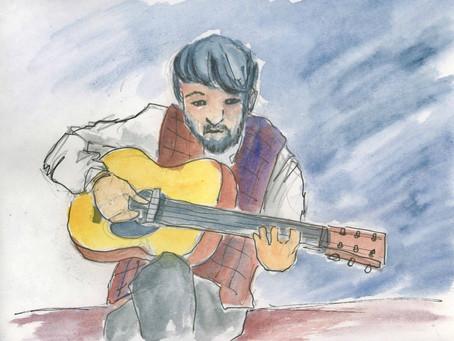 Sketching with Natsuki Kurai
