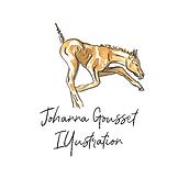 Johanna Gousset Illustration Logo