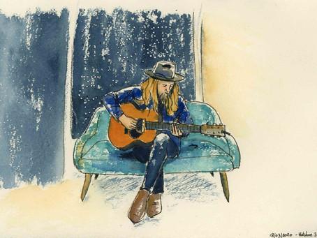 Sketching with Stu Larsen