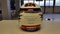 Aerografia Casco Auto-Ufficiale FIA