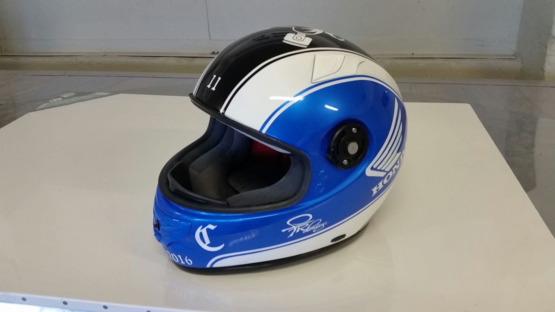 Aerografia Casco Moto