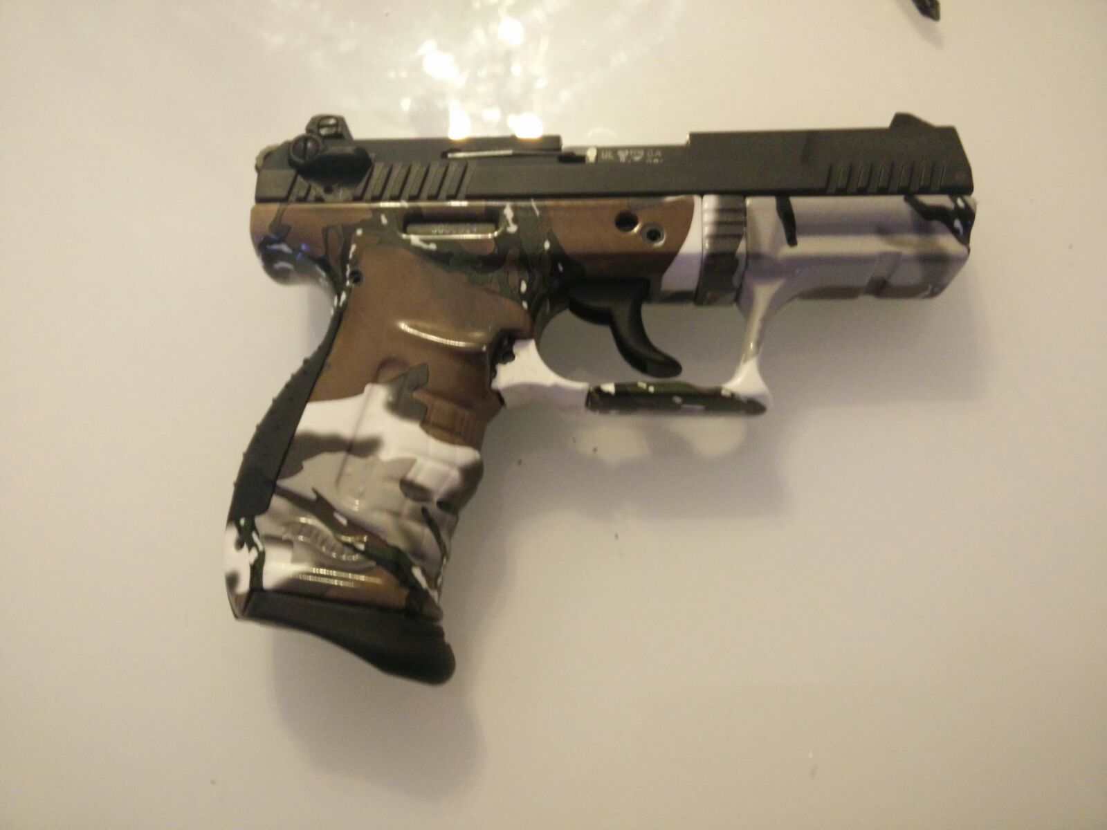 Cubicatura Pistola Calibro 22