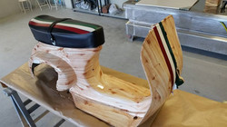 Cubicatura effetto legno Vespa