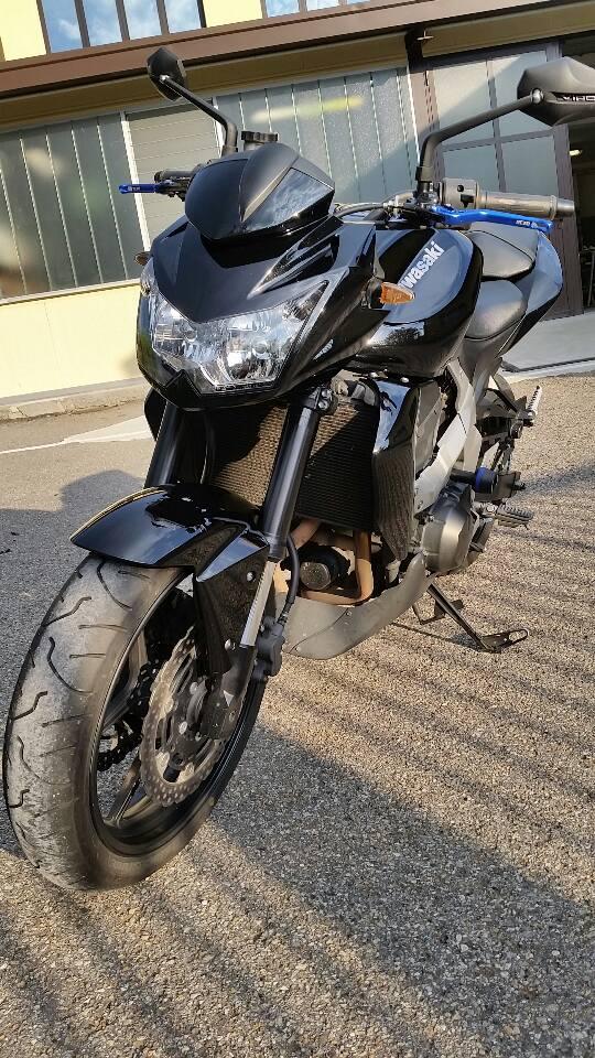 Lucidatura Kawasaki z750
