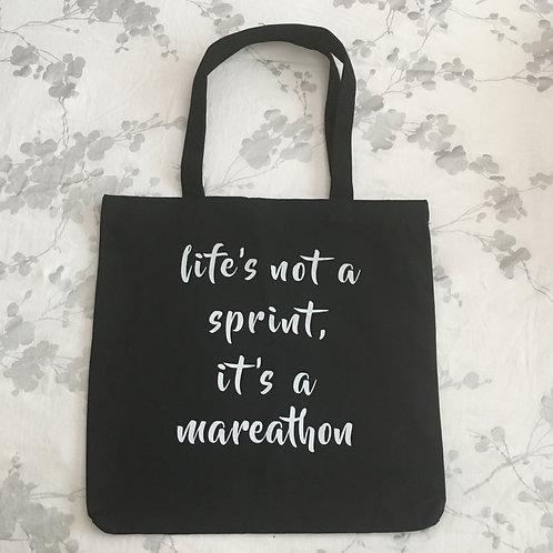 Mareathoner Tote Bag