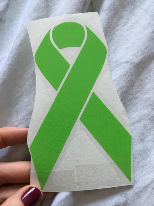 Mental Health Awareness Ribbon Decal