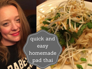 How To: Easy Pad Thai