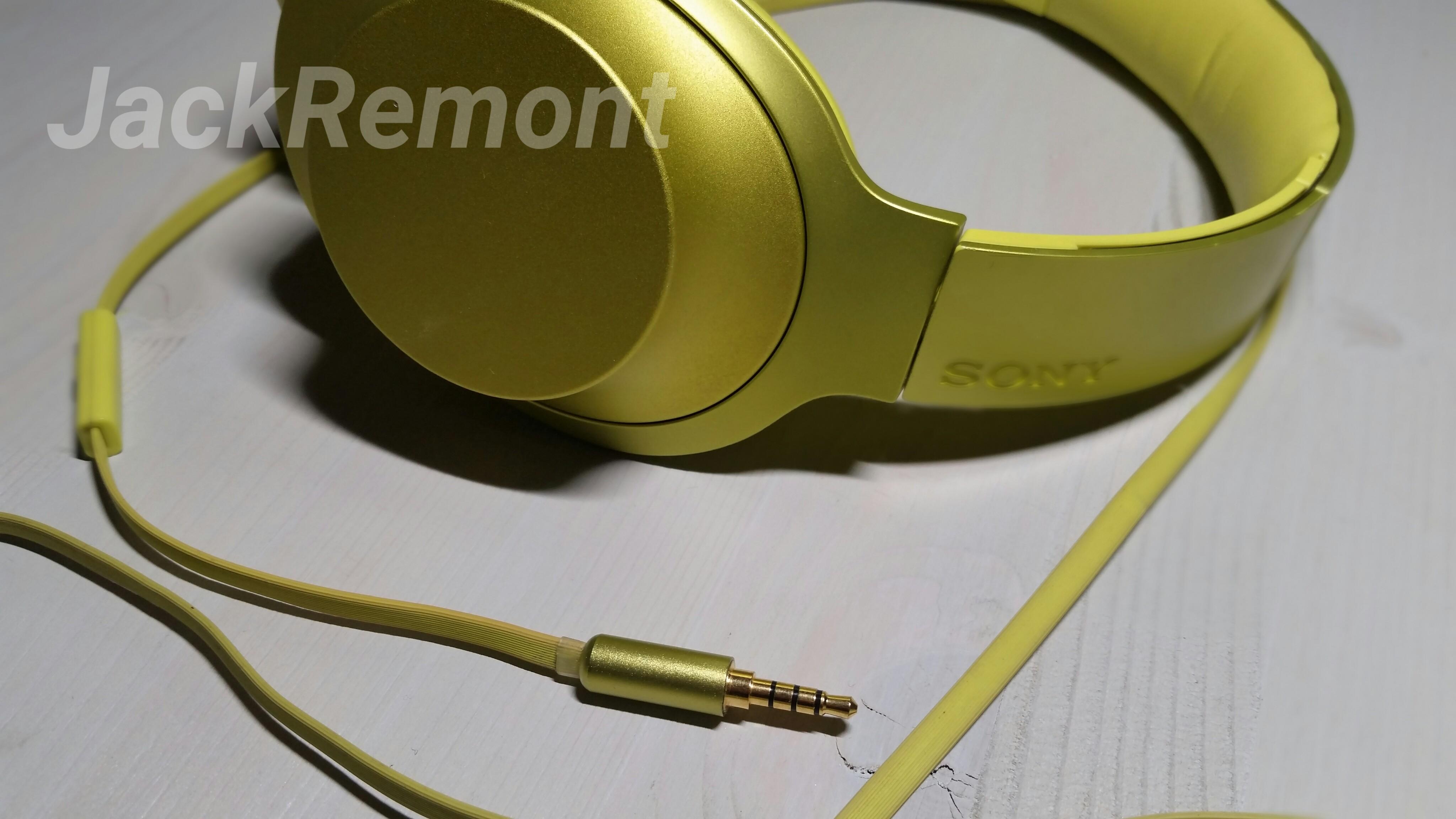 Замена разъема кабеля Sony