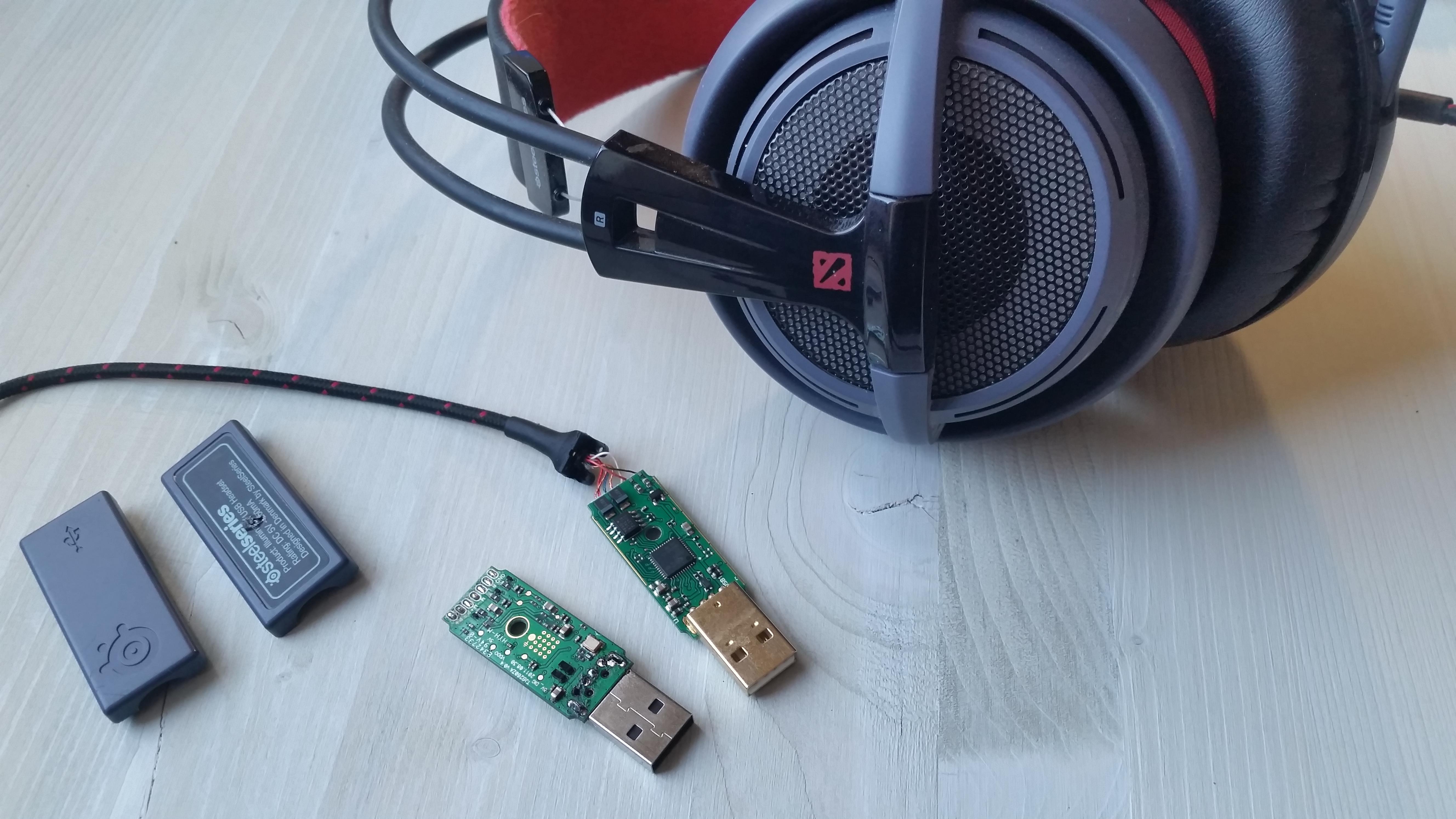 Замена USB на SteelSeries