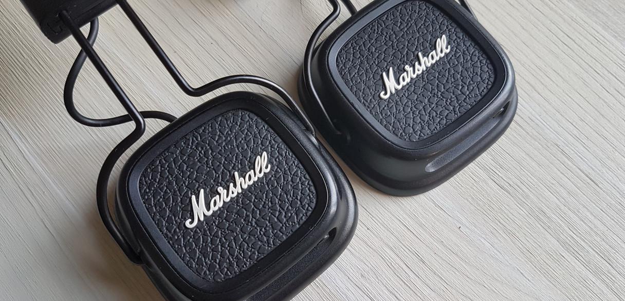 Замена элемена оголовья Marshall Major 2bt