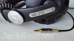 Замена разъема на Sennhaiser HD 215