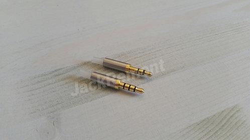 Замена - Jack 3.5 Металл 15 мм. 3/4 pin